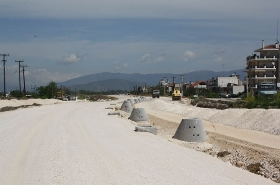 Construction of Karagiorga Road, Texhnical T1 & Airport Road