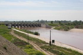 Αποπεράτωση Ρουφράκτη (Φράγματος) Γυρτώνης στον ποταμό Πηνειό Ν. Λάρισας